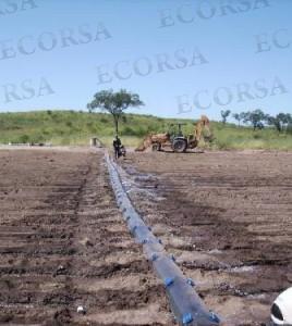Mangas para riego agricultura